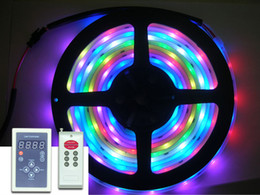 Christmas 5M 500CM 5050 SMD 6803IC Dream Magic RGB Color Led Strip Waterproof + 133 Changes Controller