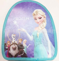 Wholesale In Stock New Children School Bags Backpacks Bag Fashion Princess Snow Queen Double Shoulder Baby Bags C2435