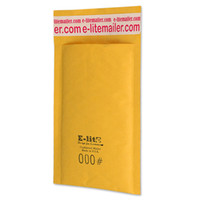 Wholesale 500 x8 mm quot x203mm quot KRAFT BUBBLE MAILERS PADDED MAILING ENVELOPE BAG SHIPPING SUPPLY
