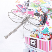 ants craft - J2 J3 DRAGONFLY ANT SCULPTURE NOVELTY DECORATIONS STAINLESS HAND MADE ART CRAFTS WEDDING BIRTHDAY HOME GARDEN OFFICE GIFT PRESENT CUTE