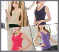 Cheap 30Pcs lot Women shaper Vest Shaping Underwear Fat Burning Seamless Body Sculpting shapewear sexy body shaper vest M29