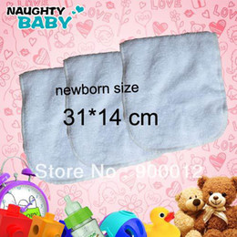 Wholesale Promotion off Newborn Baby Inserts Reusable Cloth Diapers Inserts for layers of microfiber cm