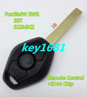 Wholesale Best Quality Best Prize Button Remote Key Control MHZ With ID44 Chip For Car BMW EWS