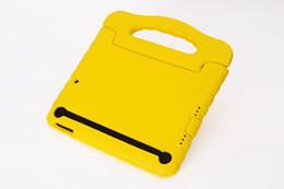 SécuriJeunes épais en mousse antichoc EVA Case Poignée Cover Stand For iPad 2/3/4 / iPad air / iPad Mini 50PCS J à partir de enfants ipad poignées de cas fournisseurs