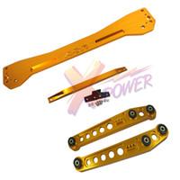 arm braces - Xpower Rear Lower Control Arm Subframe Brace Tie Bar For Honda Civic EK Red Blue Gold Black Silver