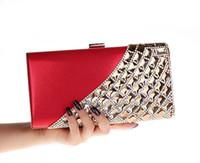Wholesale New Fashion Ladies Handbag Clutch Evening Bag Party Purse crystal Rhinestone women s day clutch Bag