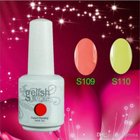 Wholesale 2014 New Hot Gelish Nail Polish Soak Off Nail Gel For Salon UV Gel Colors ml