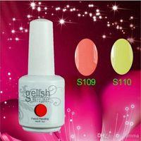 Cheap 2014 New Hot Gelish Nail Polish Soak Off Nail Gel For Salon UV Gel 242Colors 15ml