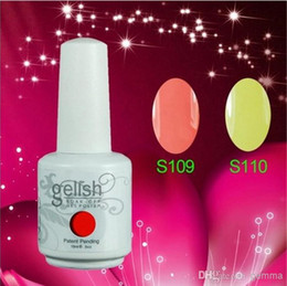 Wholesale 2014 New Hot Gelish Nail Polish Soak Off Nail Gel For Salon UV Gel Colors ml