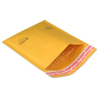 mail bags - 300 x10 KRAFT BUBBLE MAILERS PADDED MAILING ENVELOPE BAG US MADE