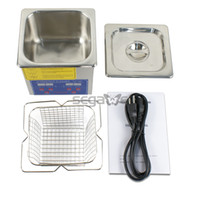 Wholesale 2014 New Professional L Stainless Steel w Timer Ultrasonic Cleaner Heater