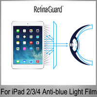 9.7 For Apple For Ipad For Apple iPad4 Screen Protector Anti-blue Light Protective Film 9.7inch Tablet PC Film Branded New Original Retina Guard
