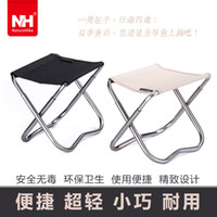 Camping Chairs Black Backpacking NH Pocket Chair Folding Stool Seat Portable For Outdoor Camping Fishing Beach