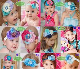 Frozen Baby Kids Hair Accessories Top Toddler Baby Cartoon Hairwear Headbands Children Girl Princess Hair Bands 20pcs lot GX440