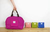 Totes beads boston - New Arrive Folding Waterproof Reusable Eco Shopping Travel Shoulder Bag Pouch Tote Handbag