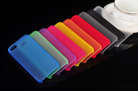 Wholesale iPhone Set Candy Color Transparent Cover For S S cell phone cases Mixed Order Fashion and Classical