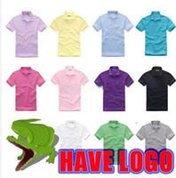 Wholesale 2014 New brand men Cotton sport polo shirt Short sleeve fashion men s T shirt colors S XXXL Top quality men s T shirts