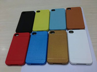 For Apple iPhone TPU  Grid Stripe Shockproof Dirtyproof TPU Phone Cover Case for 4G 4S 5g 5S S3 S4 S5 N9000 300pcs