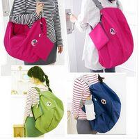 Wholesale Fashion Hot Multi functional transform receive foldable bag shoulder bag Backpack bag