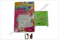 Wholesale Update in June R SIM RSIM PRO Unlock Sim card for iPhone S S C GSM WCDMA iOS7