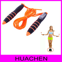 Wholesale 2 m Sport Equipment Jump Rope Jumping Rope Adjustable Rope skipping calories Wireless jump rope display count time