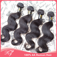 Wholesale RY Hair hotsale peruvian human hair extensions peruvian virgin hair body wave same mixed length quot quot in stock
