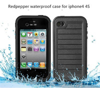 Wholesale redpepper red pepper Case For Iphone S iphone S C Case Water proof Case Retail Packaging AAAA quality