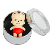 No babies flash memory - 5pcs Genuine Capacity GB GB GB GB Cartoon Cute Baby USB Flash Drive Pen Drive Memory Stick Drop Shipping Tin Box
