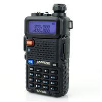 Wholesale Dual Band BAOFENG UV R UHF VHF Radio RF W OUTPUT NEW VERSION GSDC C1 B
