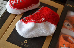 Wholesale 2015 hot colors choose Baby Infant Shoe Socks BABY INFANT Boys Girls CRIB SHOES BOOTIES SOCKS boot sock M with Original Box