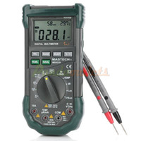 Wholesale MASTECH MS8229 in Digital Temperature Humidity Noise Illumination Multimeter Green retail