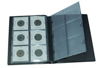 Wholesale 60 cells coin album coin collection book cion stock book coin holder of paper clip retail C033