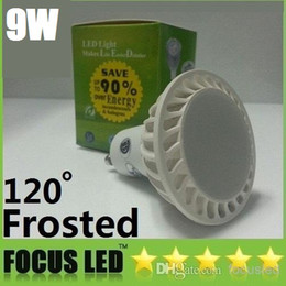New 1X9W COB Led GU10 Spotlights Lamp 120 Angle AC 110-240V 12V Dimmable E27 E26 MR16 Led Light Bulbs Lamp Frosted Cover