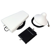 Cheap GSM 900 2100MHz Mobile Phone Signal Booster Power Amplifier Repeater 65db Gain with 10m Cable Antenna