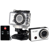 Wholesale Gopro Hero3 Style Action Sport waterproof Camera with Wifi Support Control by Phone Tablet P Full HD IR Remote Control from Kakacola