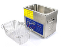 Wholesale BRAND NEW Professional L Stainless Steel w Timer Ultrasonic Cleaner Heater