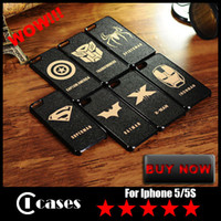 Wholesale Cool PC Hard Case For iPhone S League of Legends Super Hero Shell Phone Accessories For iPhone S DHL