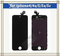 Cheap Front Assembly LCD Display + Digitizer Touch Screen Assembly Replacement Part for iphone 5 5G