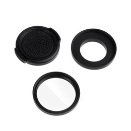 Wholesale 37mm Filter Adapter Glass UV Lens Protective Cap for Camera Gopro Hero D1127
