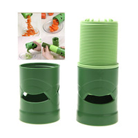 kitchen utensils - Compact Vegetable Fruit Twister Spiral Cutter Slicer Utensil Processing Device Kitchen Accessories Tool Cooking Tools H10921