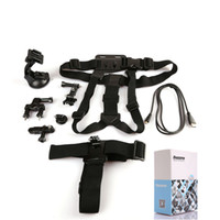 Wholesale Dazzne Camera Mount Accessories in Chest Head Strap Suction Cup for GoPro Hero KT D1145