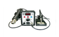 Cheap 220V ATTEN AT8586 2in1 Hot Air SMD Rework Soldering Station Desoldering Station