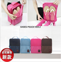the packaging of shoes - The new Korean version of the monopoly footwear finishing package travel pouch shoes shoes bags position