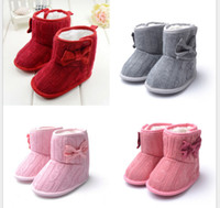Winter infant winter shoes - Winter Baby Walking Shoes Infant First Walking Leather Boots Children s Boot Baby Handmade Shoes T Colors for choose