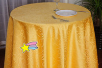 Wholesale cm Round Shaped Table Cover Tablecloths For Wedding Party Decorating Colors
