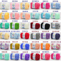 Cheap Quilt Accessories baby sweater knitting Best fat mama 34 colors baby wool knitting