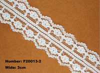 Wholesale 100 Yards cm Lovely Designed Polyester Lace Embroidery Lace Water Soluble Lace Cotton Lace Trim Ribbon F20013