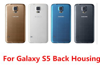 Wholesale For Samsung Galaxy S5 i9600 G900 Battery Housing Door Back Cover Rear Case