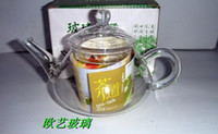 Wholesale ML Glass Teapot Easy Use Tea Set For Make Flower Tea And Coffee