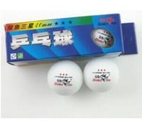 double fish table tennis - Double Fish table tennis ball star table tennis ball yellow and white top sale